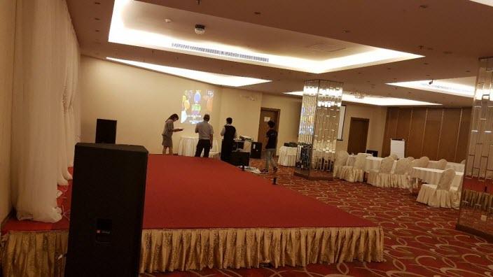 Lắp đặt dàn âm thanh hội trường khách sạn Aurora - Đồng Nai 05