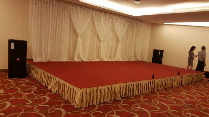 Lắp đặt dàn âm thanh hội trường khách sạn Aurora - Đồng Nai 06