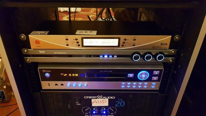 Lắp đặt dàn âm thanh hội trường khách sạn Aurora - Đồng Nai 10