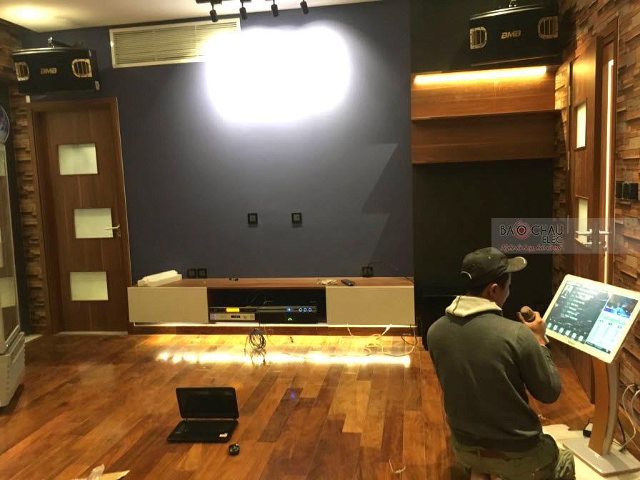 Lắp đặt dàn karaoke gia đình cao cấp cho anh Tuấn Anh tại Cẩm Lệ Đà Nẵng - pic 08