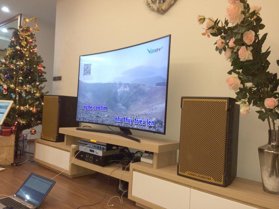 Lắp đặt dàn karaoke VIP cho gia đình tại Hồ Tùng Mậu - Cầu Giấy - HN