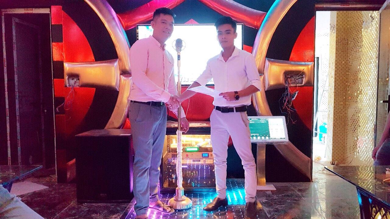 Lắp đặt hệ thống 10 phòng hát karaoke chuyên nghiệp Noke tại TPHCM