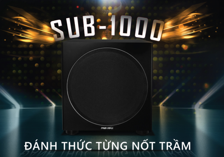 Loa Sub Paramax Sub-1000 tính năng 2