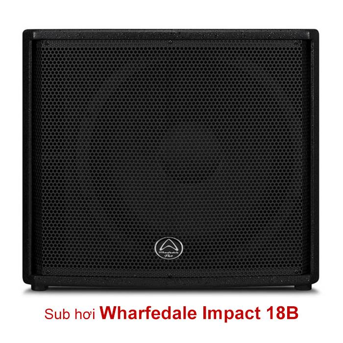 Loa sub Wharfedale Impact 18B