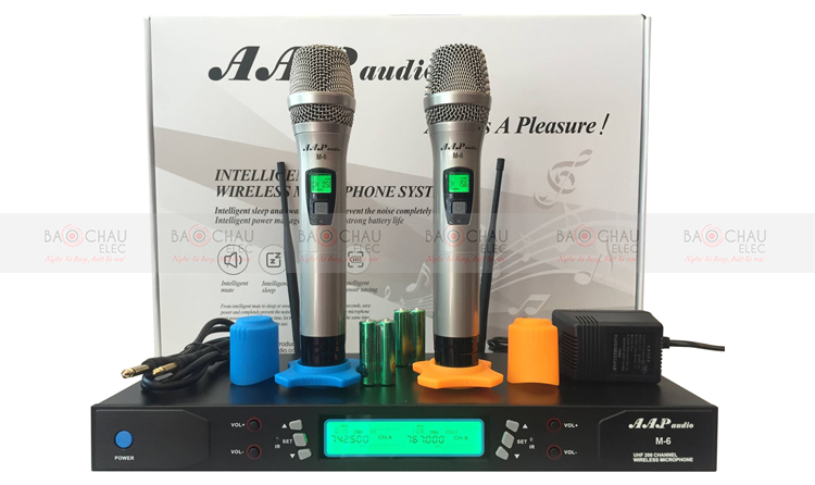 Micro AAP M6 và phụ kiện đầy đủ