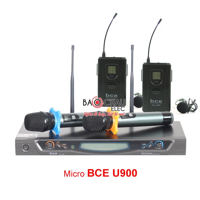 Micro không dây BCE U900 (gắn áo)