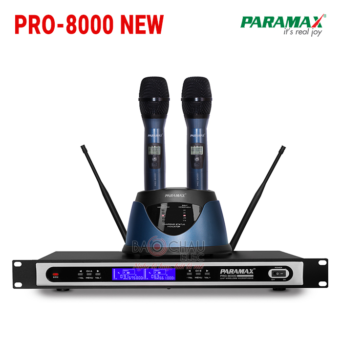 Micro Paramax Pro-8000 New