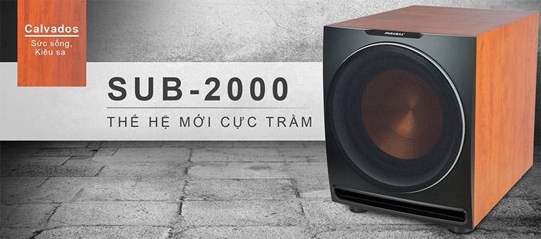 Siêu trầm Paramax Sub-2000 new Calvados thế hệ mới