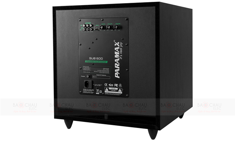 Loa sub paramax sub-600 cho âm thanh dải thấp nghe rất tuyệt